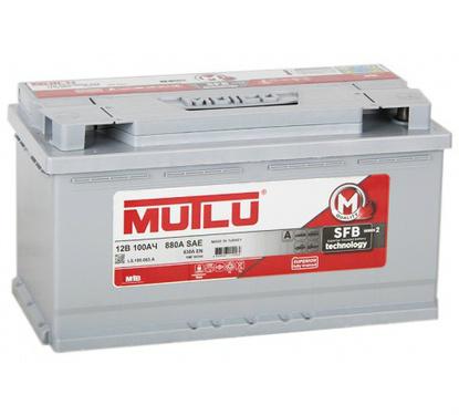 Автомобильный аккумулятор АКБ MUTLU (Мутлу)  L5.100.083.A SMF 60044 100Ач О.П.