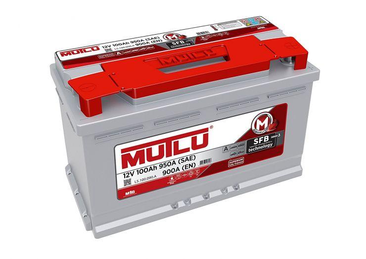 Автомобильный аккумулятор АКБ MUTLU (Мутлу)  L5.100.090.A SMF 60056 100Ач О.П.